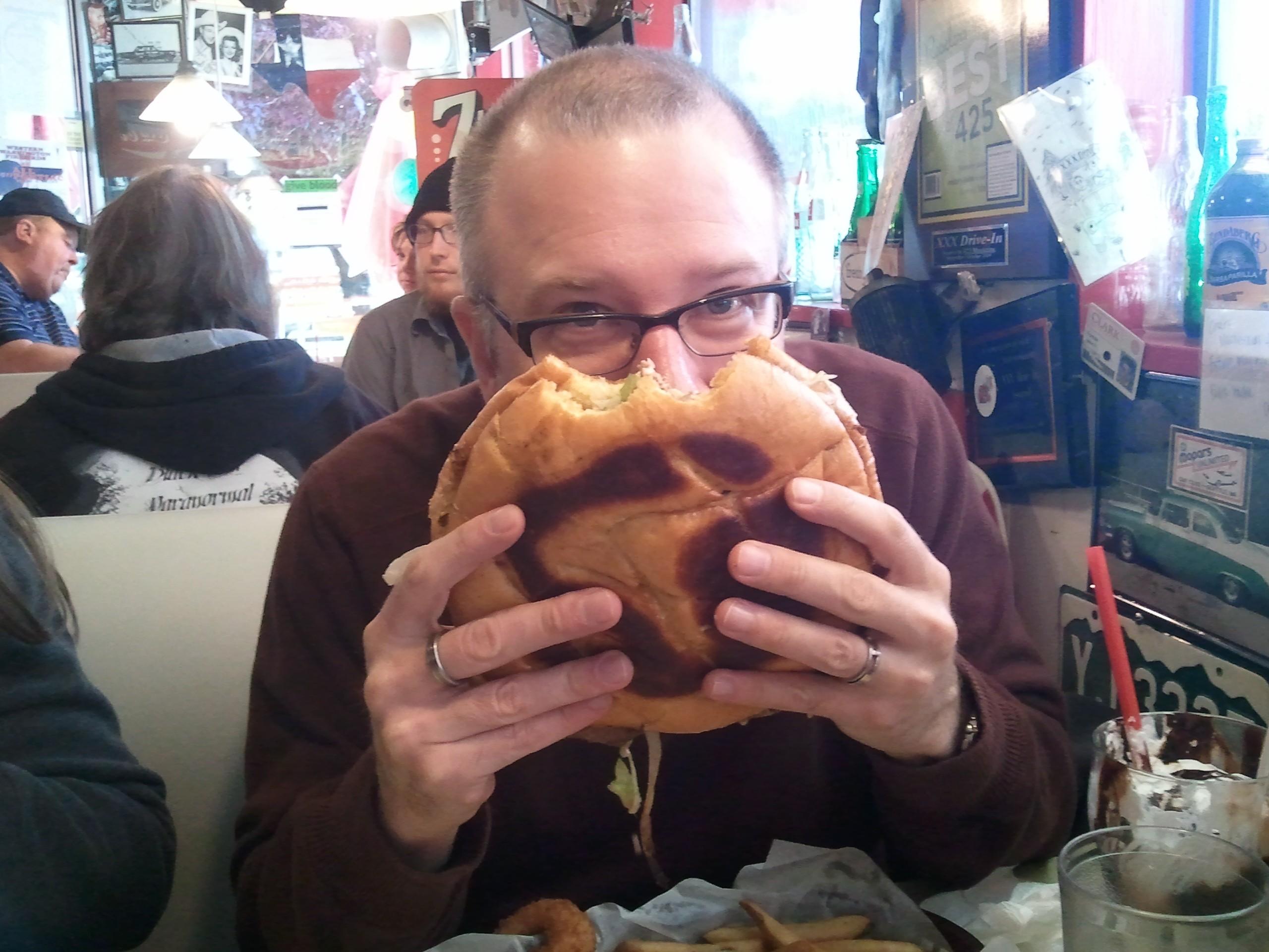 Massive XXX burger